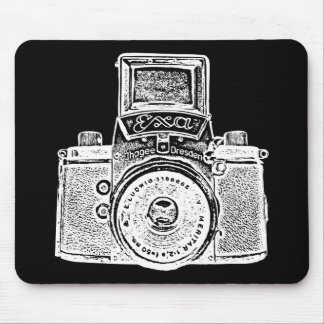Giant East German Camera - Negative Effect Mouse Pad