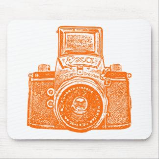 Giant East German Camera - Orange Mouse Pad