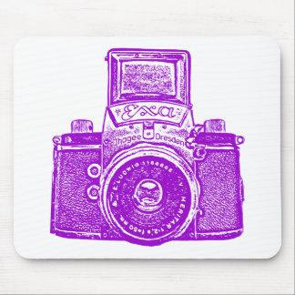 Giant East German Camera - Purple Mouse Pad