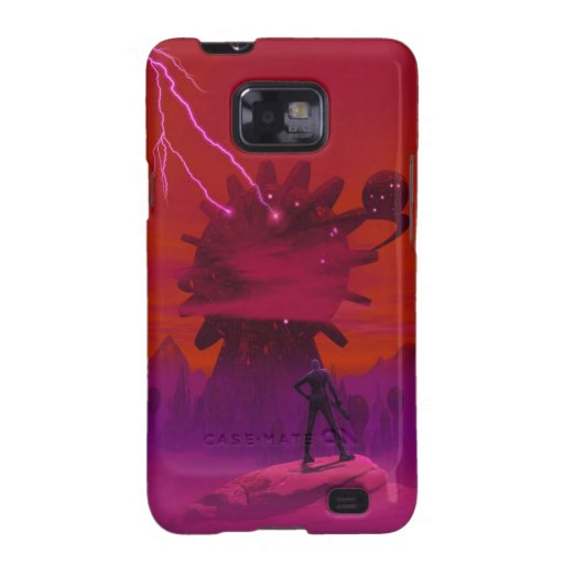 Giant Energy Gathering Tower Samsung Galaxy SII Cover
