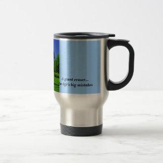 Giant Eraser  Travel Mug