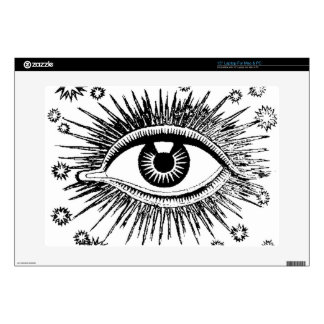 Giant Eye Eyeball Mystic All Seeing Watches You Laptop Skin