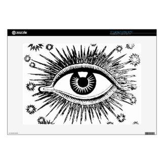 Giant Eye Eyeball Mystic All Seeing Watches You Laptop Skin