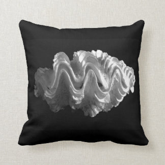 Giant Frilled Clam Seashell Tridacna squamosa Pillows