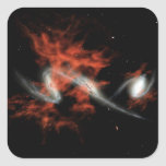 Giant galactic blobs sticker