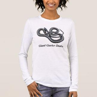Giant Garter Snake Long Sleeve T-Shirt