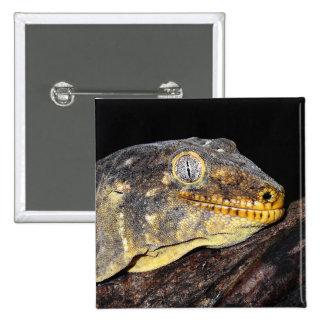 Giant geckos pinback button
