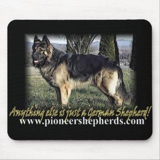 Giant German Shepherd mousepad