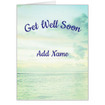 Giant Get Well Soon Card