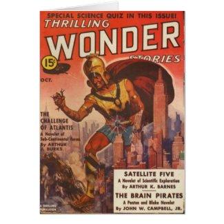 Giant Gladiator Card