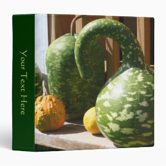 Giant Gourds Fall Nature Binder