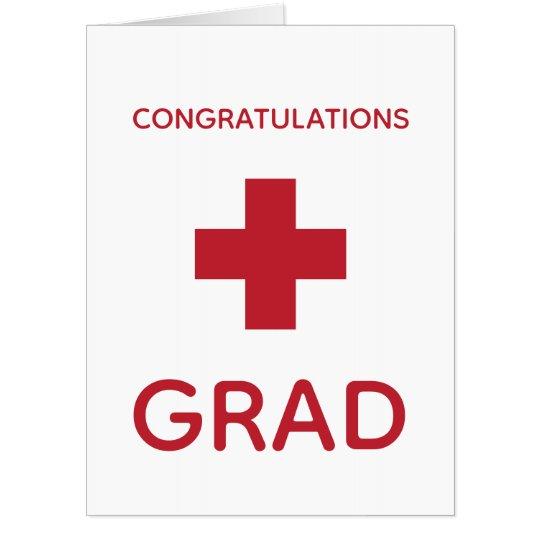 giant graduation card medicine nurse doctor zazzle com