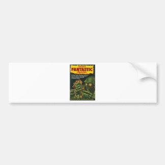 Giant Green Ghoul Bumper Sticker