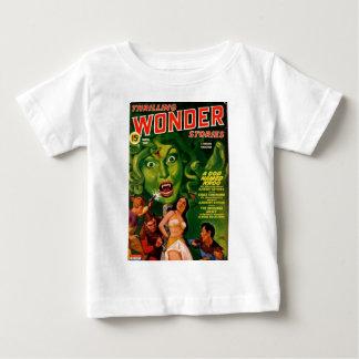 Giant Green Snake Woman Baby T-Shirt