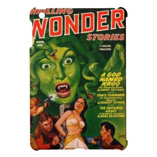 Giant Green Snake Woman iPad Mini Cover