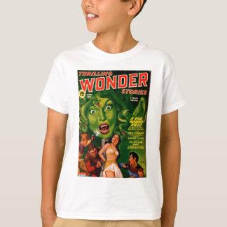 Giant Green Snake Woman T-Shirt