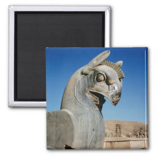 Giant griffin, Persian, c.516-465 BC 2 Inch Square Magnet