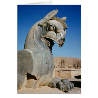 Giant griffin, Persian, c.516-465 BC Card