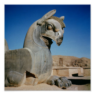 Giant griffin, Persian, c.516-465 BC Poster