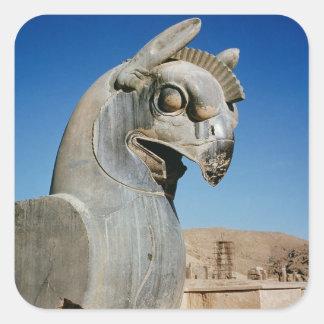 Giant griffin, Persian, c.516-465 BC Square Sticker