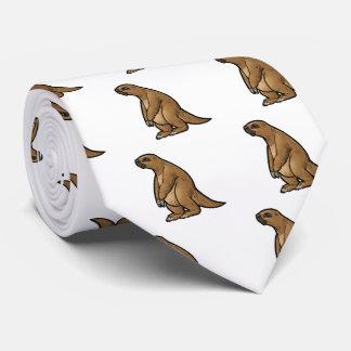 Giant Ground Sloth Neck Tie