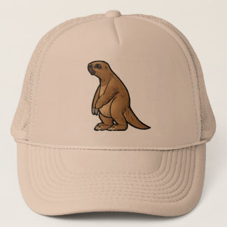 Giant Ground Sloth Trucker Hat