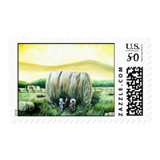 Giant Hay Bale stamp