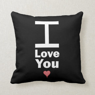 Giant I Love You Pillow