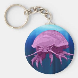 Giant Isopod Keychain