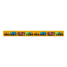 Giant Kid's Construction Truck Banner Frieze Poster