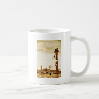 Giant Kitten in Venice Coffee Mug