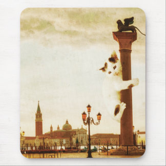 Giant Kitten in Venice Mouse Pad