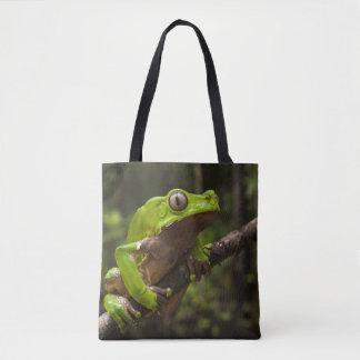 Giant leaf frog Phyllomedusa bicolor) Tote Bag
