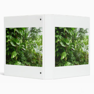 Giant Leaves Jungle View Plant Photograph Binder