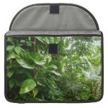 Giant Leaves Jungle View Plant Photograph MacBook Pro Sleeve