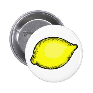 Giant Lemon Pinback Button
