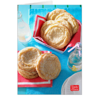 Giant Lemon Sugar Cookies Card