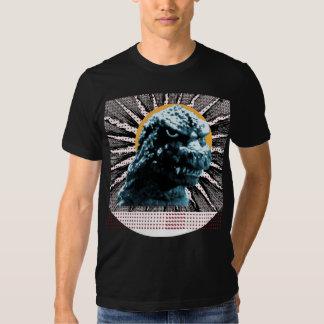 Giant Lizard /Cartoon Moon T-Shirt