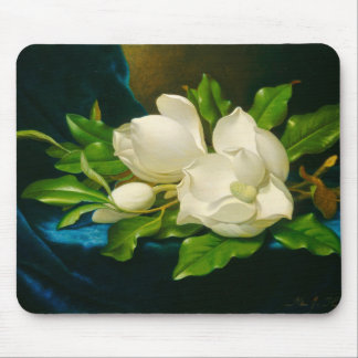 Giant Magnolias Martin Johnson Heade Fine Art Mouse Pad