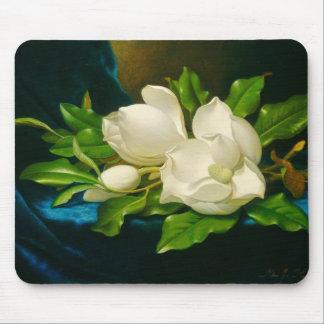 Giant Magnolias Martin Johnson Heade Fine Art Mouse Pad