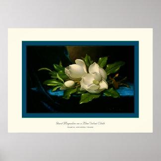 Giant Magnolias~ Martin Johnson Heade Poster