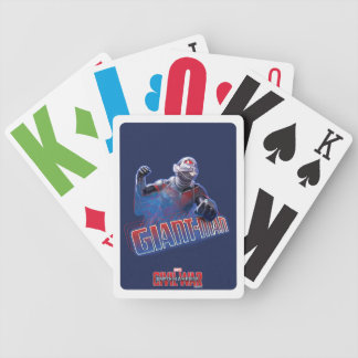 Giant-Man Character Graphic Bicycle Playing Cards