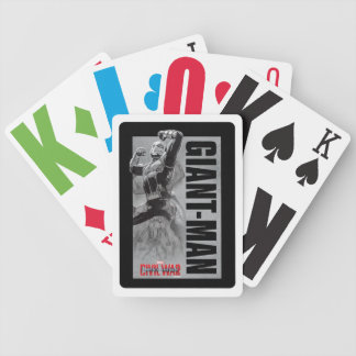 Giant-Man Transformation Sketch Bicycle Playing Cards