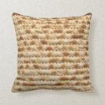 Giant Matzah Cushion - Perfect for passover Throw Pillow