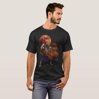 Giant Monkey vs Shen long T-shirt
