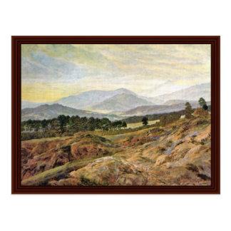 Giant Mountain By Friedrich Caspar David Post Cards