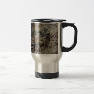Giant mule deer buck mug