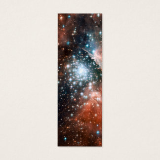 Giant Nebula Star Cluster Space Mini Business Card