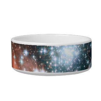 Giant Nebula Star Cluster Space Cat Food Bowls