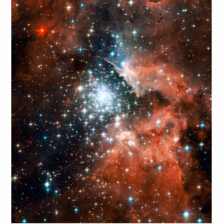 Giant Nebula Star Cluster Space Acrylic Cut Out